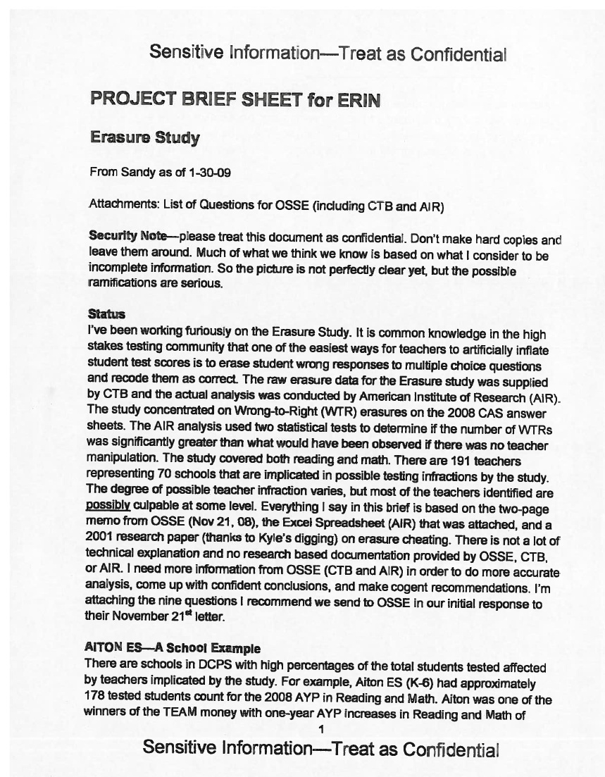 erin dcps lawyer cheating memo page 1