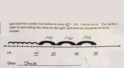 dear jack 427-316 problem