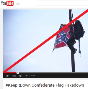 confederate flag takedown